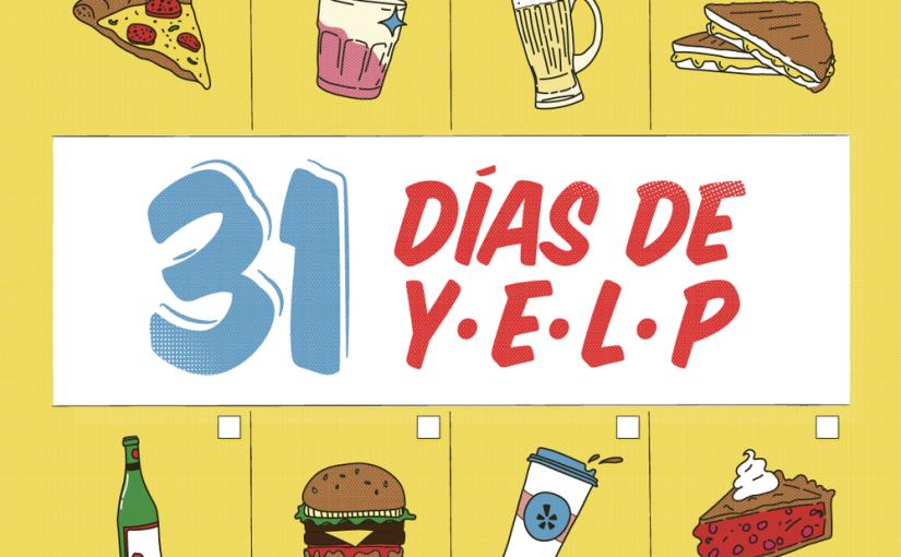 31 días para experimentar con Yelp!