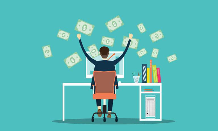 4 maneras de hacer dinero por internet
