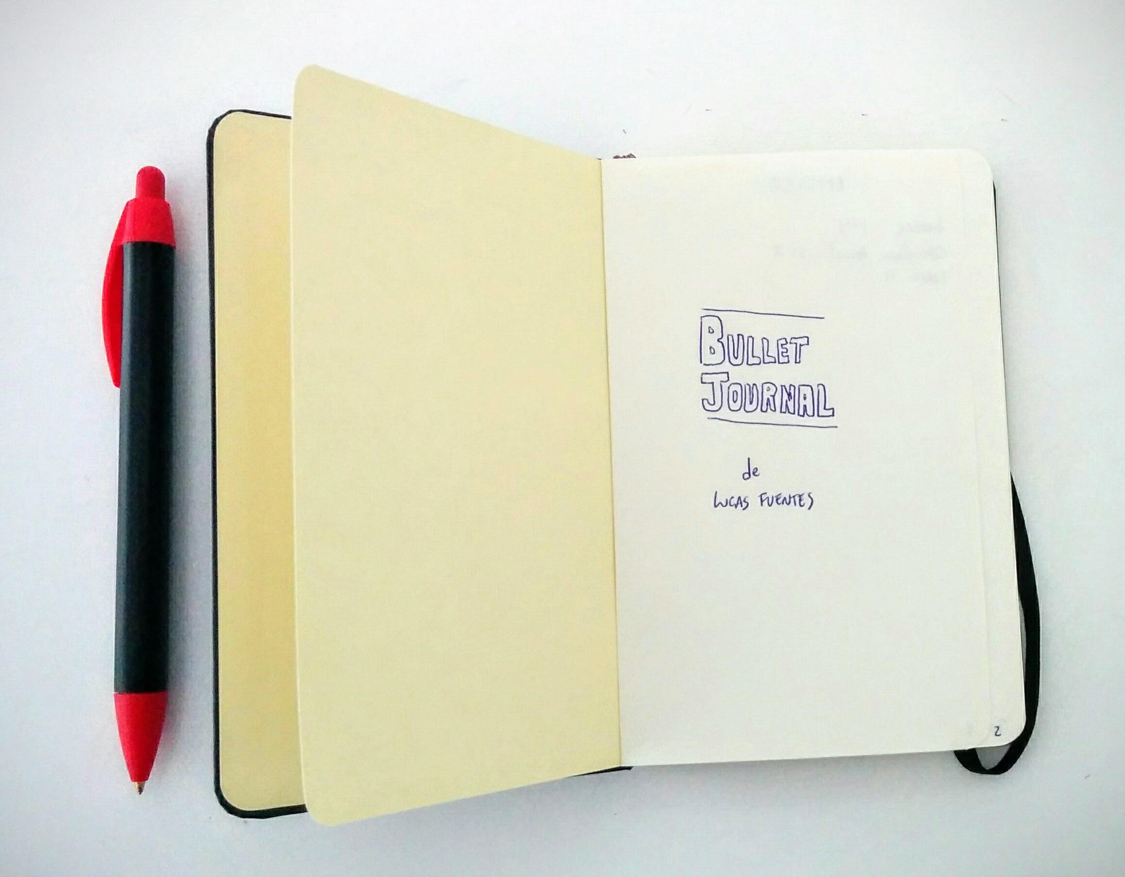 bullet journal lucas fuentes