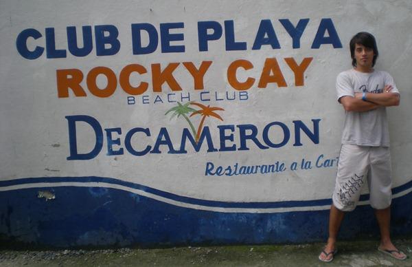 Entrada Club de Playa Rocky Cay