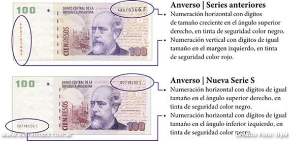 como saber si un billete de 100 pesos es falso