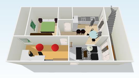 Tu plano en 3d la caja multiuso for Planner casa 3d