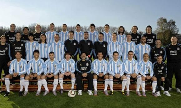 seleccion argentina 2010