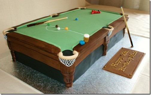 torta mesa de pool