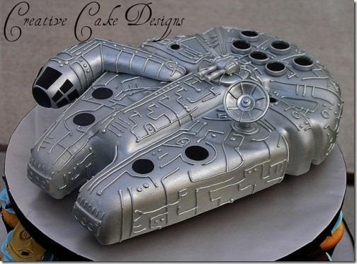 torta nave espacial